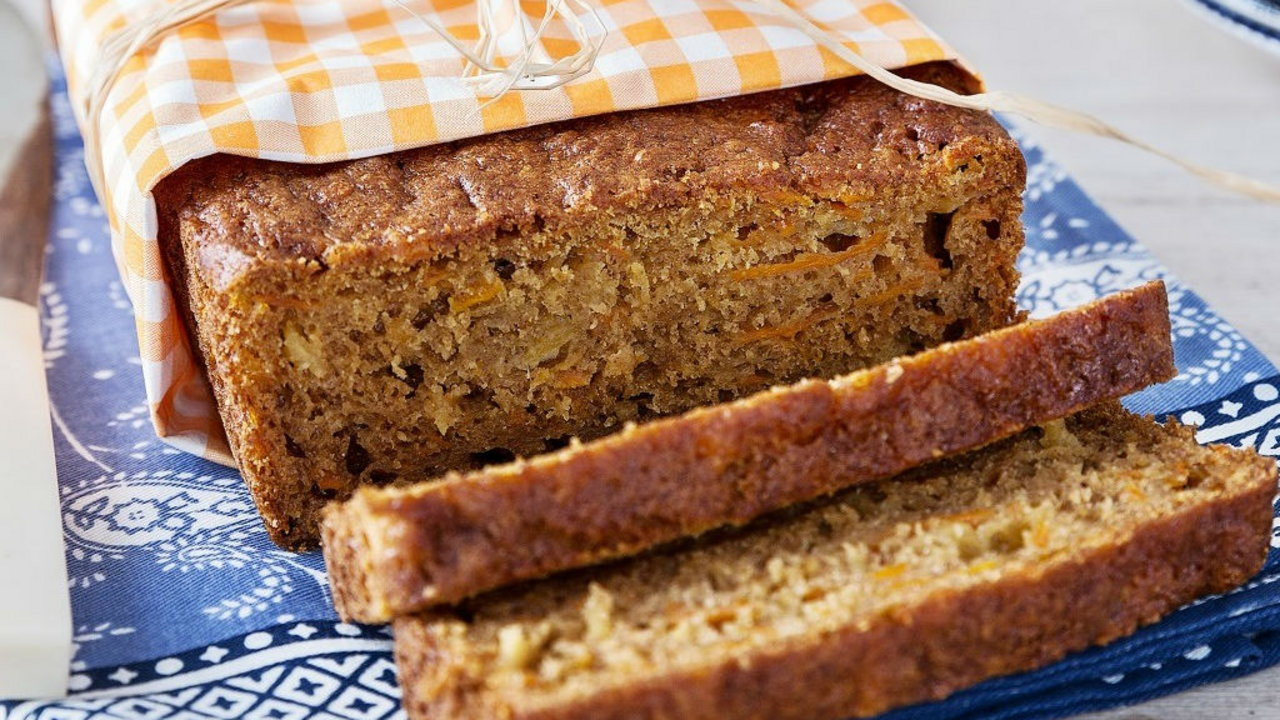Carrot and Pineapple Loaf