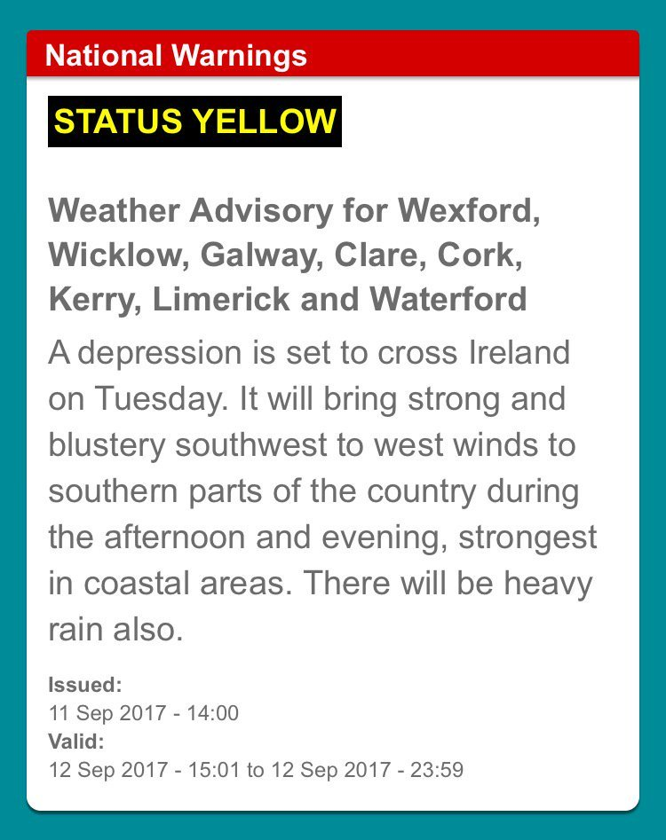 Met Office issues severe weather warning with 75mph winds for Northern Ireland