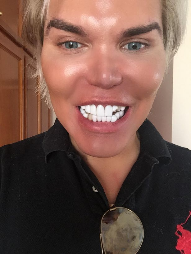 pic  human ken doll left shaken after waking up to find