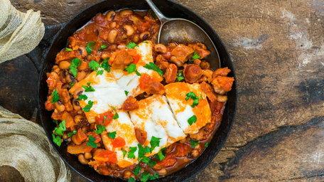 Hake Fillet & A Light Bean Stew