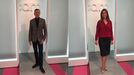 AM Presenters Wardrobe
