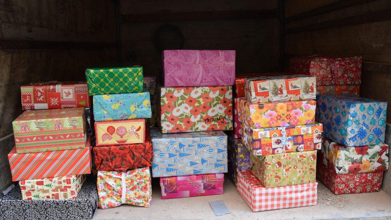 Team Hope Ireland AM Christmas Shoebox Appeal