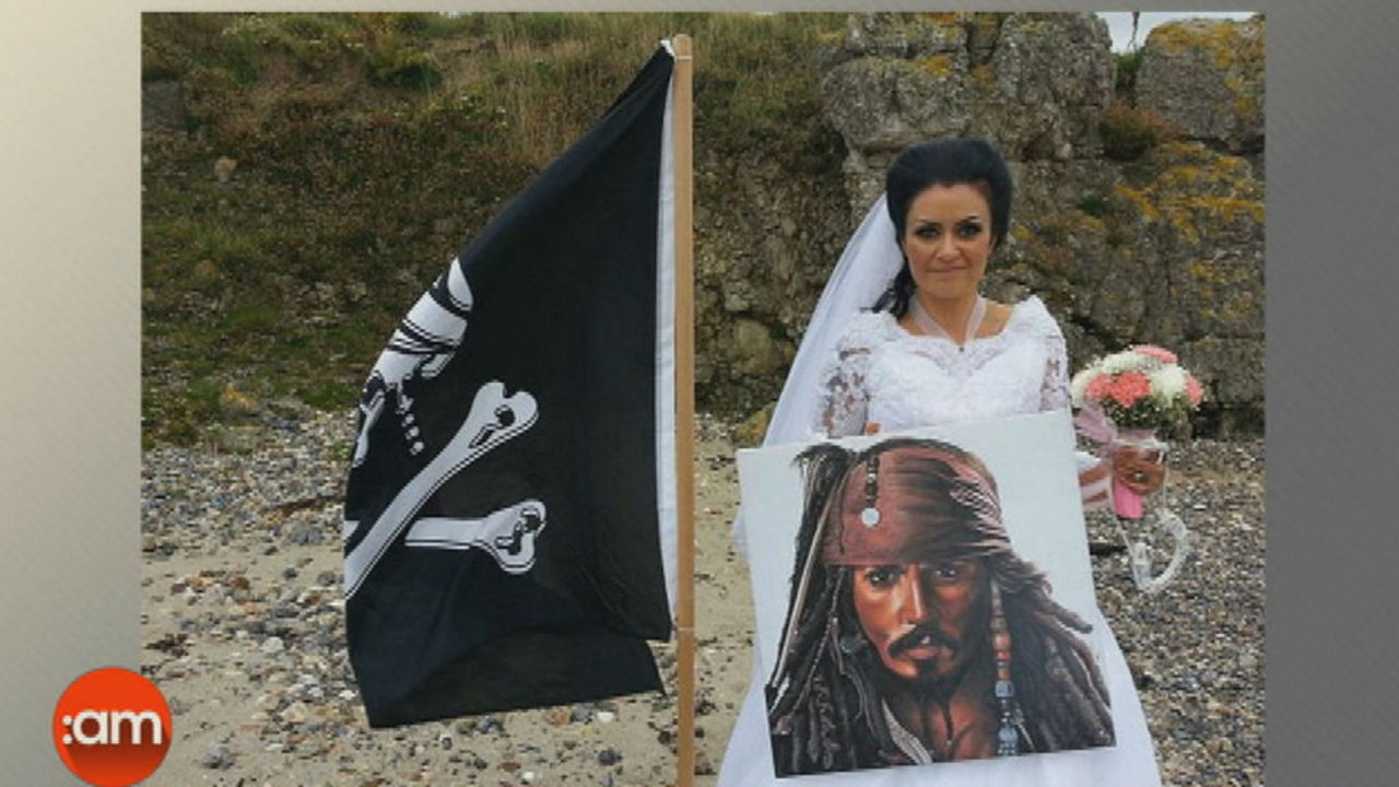 Amanda Teague: I Married a Pirate Ghost