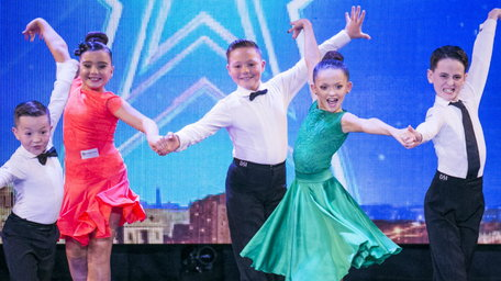 WATCH: Adorable baby ballroom dance group DAZZLE the judges with fun filled performance