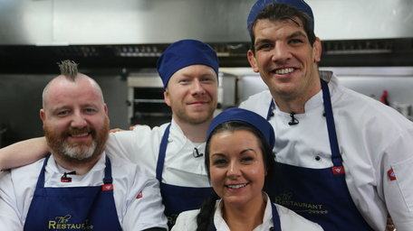 The Restaurant returns to TV3 tonight with Rugby legend Donncha O'Callaghan first up in the kitchen