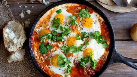 Eggs Shakshuka