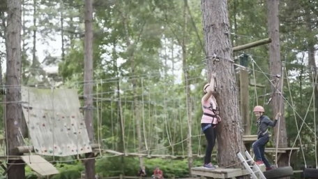 Activities whatever the weather at Center Parcs