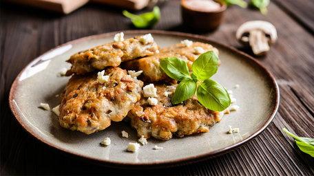 Garlic Mushroom Fritters