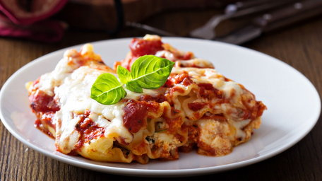 Slow Baked Beef & Ricotta Lasagne