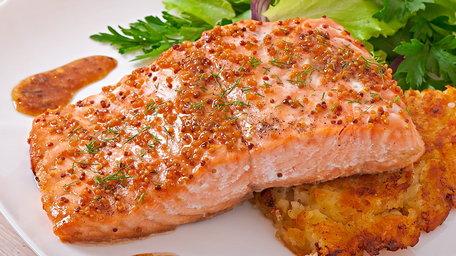 Hot Smoked Burren Organic Salmon, Poached Egg, Wild Garlic and Cheeky Mustard Hollandaise