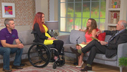 3player | Ireland AM, 07/07/2015. We're joined by Nicola McDonnell who was left paralyzed after a freak accident on a bouncing castle and has now inspired a new type of fitness class.