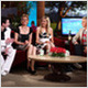CRYSTAL SWING JOIN ELLEN DEGENERES ON TV3
