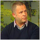 Peter Robinson opens up about his son's tragic death on the rugby pitch on TV3's Ireland AM.