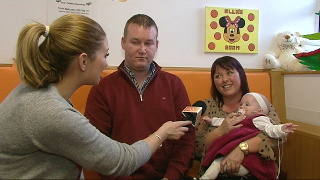 'Ireland AM' broadcasts live from Temple Street Children's Hospital for Christmas special.