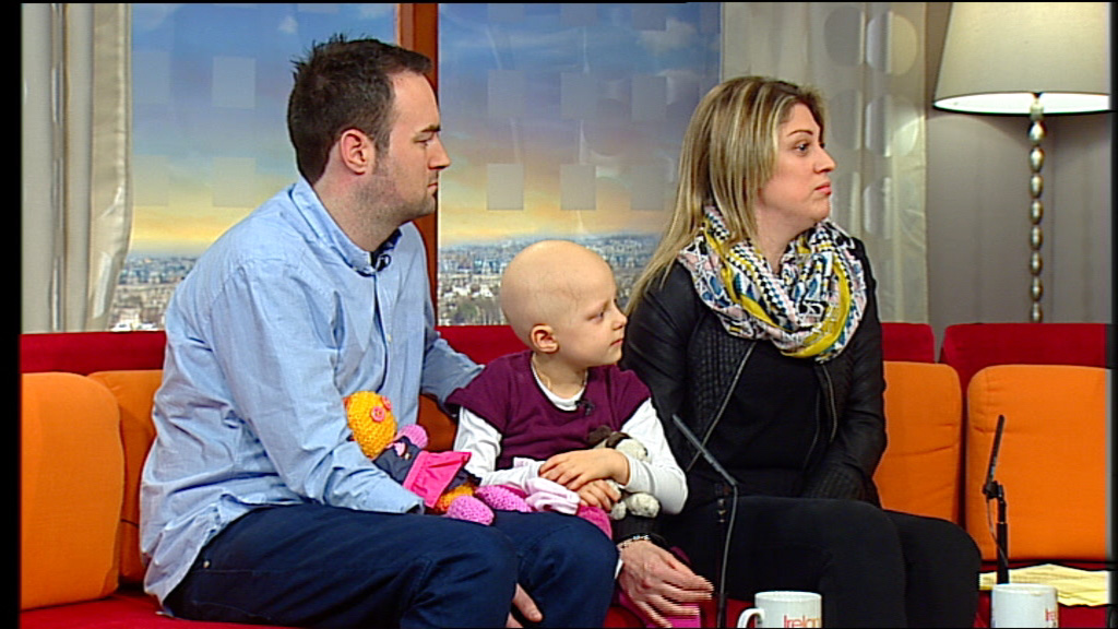Ireland AM meets 4-year old Merryn Lacy who is bravely battling Stage 4 Neuroblastoma.
