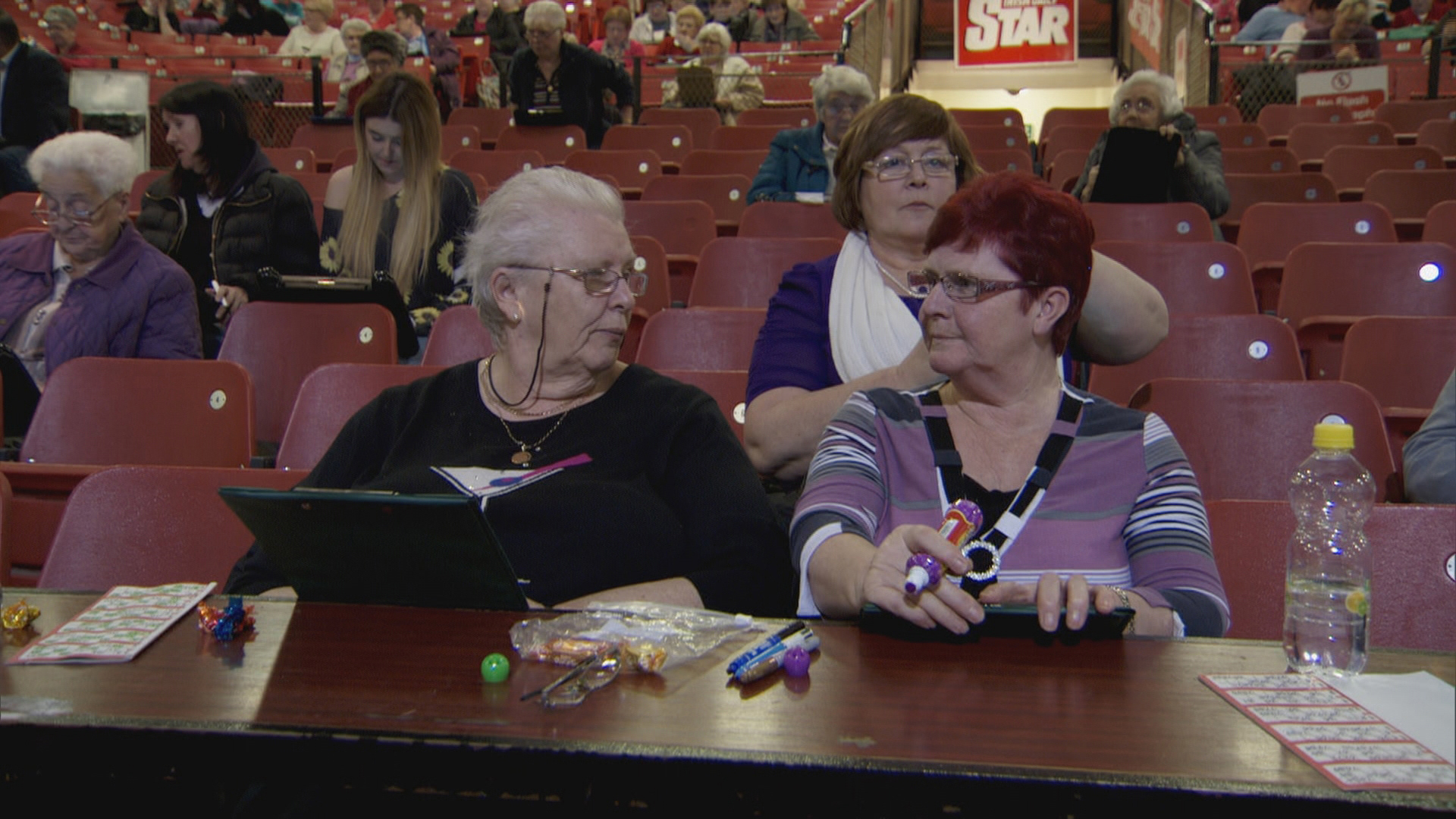 Full House!  New Irish series 'Bingo Nights' airs on TV3.