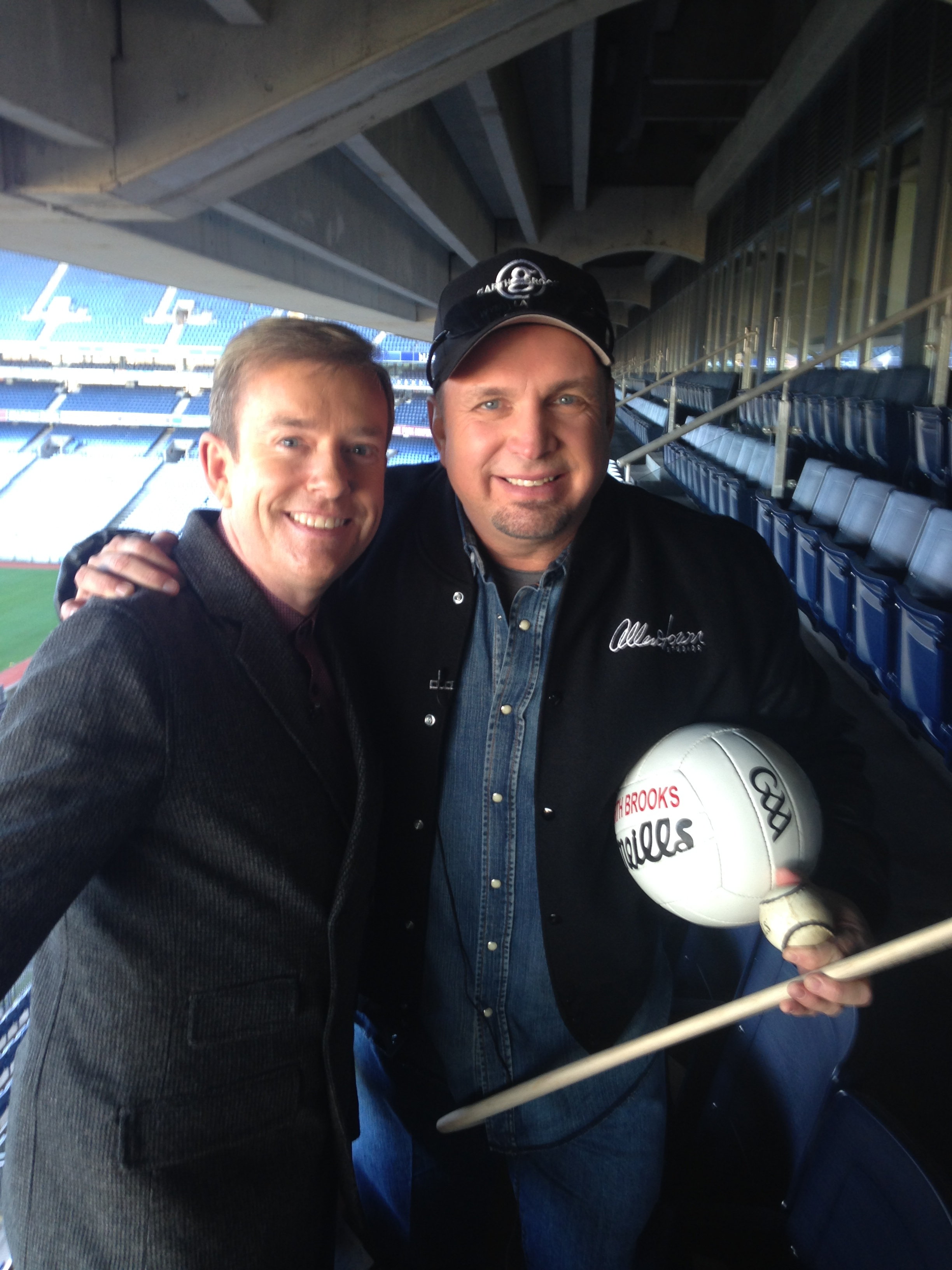 Alan Hughes chats to Garth Brooks about announcing two dates in Croke Park next July.