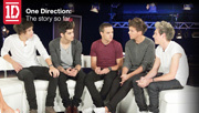 3player | One Direction: Our Story So Far, 13/01/2014. Karen Koster interviews boys in the band who discuss how their lives have changed.