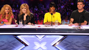 3player | The X Factor USA, 07/12/2013. The live shows continue as Simon Cowell, Demi Lovato, Kelly Rowland and Paulina Rubio prepare to judge the acts once again. Presented by Mario Lopez