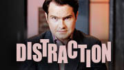3player | Distraction, 12/04/2014. Jimmy Carr hosts the game show where contestants answer questions while being distracted by devilish challenges, this time facing a food cannon and a parade of middle-aged nudes